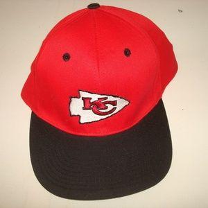 Other - KANSAS CITY CHIEFS  VINTAGE SNAPBACK HAT CAP 90S